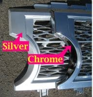 Supercharged Grille Conversion Kit - SILVER - Range Rover L322